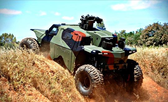 Combat Guard Military Vehicle