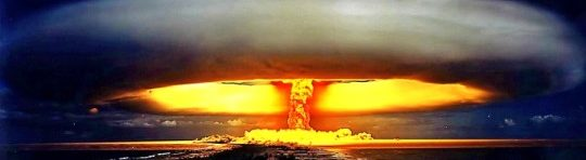 Nuclear Attack Bomb Explosion
