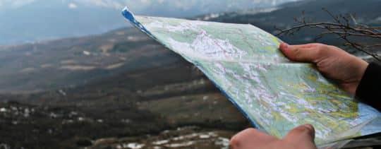 Cache Location Map