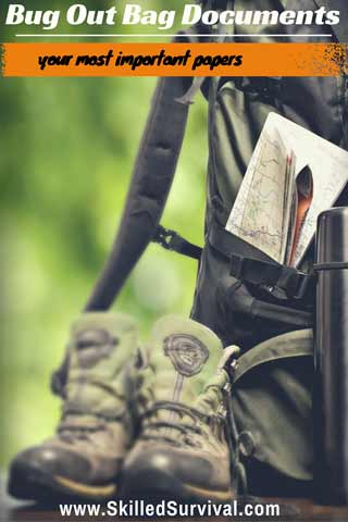 Bug Out Bag Documents