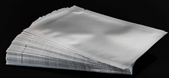 mylar bags stack