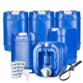 Legacy 6 Pack Stackable Water Containers