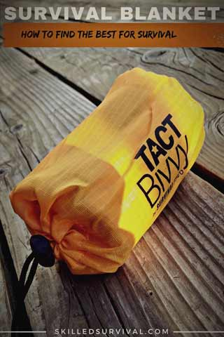 Survvial Blanket - Emergency Sleeping Bag