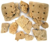 Hardtack Broken Into Peices