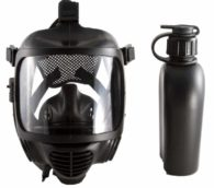 MIRA SAFETY CM-6M TACTICAL GAS MASK with Canteen