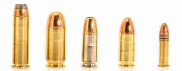 Line Of Different Survival Gun Calibers