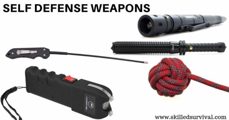 17 Proven Self Defense Weapons For Insanely Strong Protection