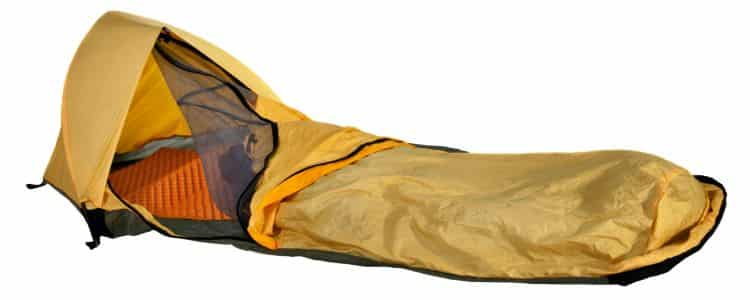 basic brown bivy sack
