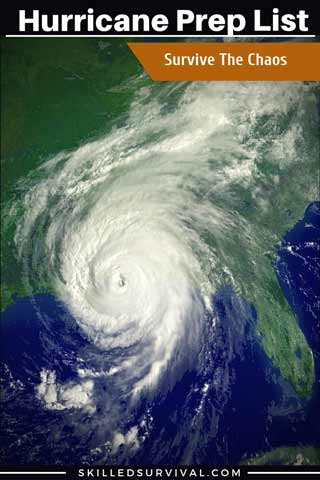 Hurricane Prep List