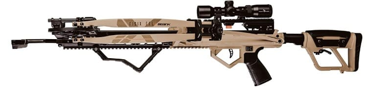 Crossbow In Side View