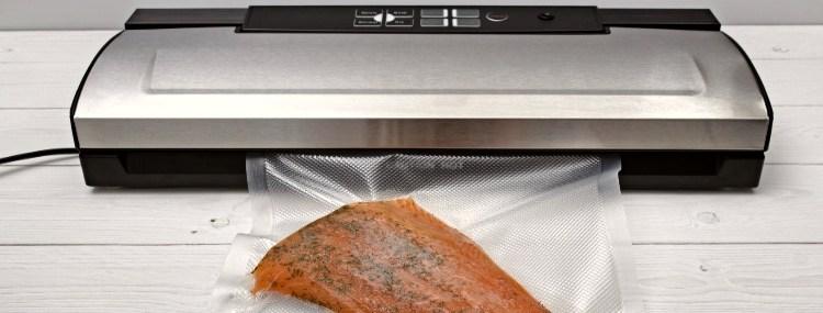 Vacuum Sealing Fish