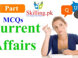 Pakistan Current Affairs MCQs for Preparation