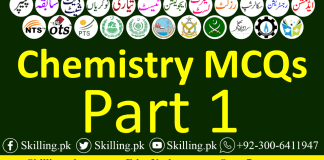fsc chemistry mcqs with answers pdf Archives - Skilling