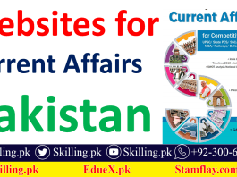 Websites for Latest Current Affairs of Pakistan and World