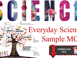 Everyday Science Mcqs Test Preparation
