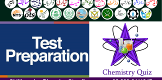 Chemistry MCQs with Answers PDF Free Download for Test Preparation