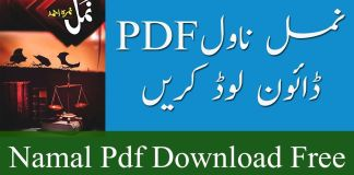 Namal novel Pdf By Nimra Ahmed Download