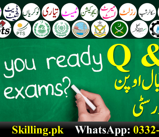 AIOU Curriculum Planning and Evaluation-II 6564 Solved Old Papers 2021