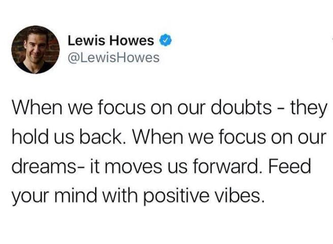 law of attraction in relationships quote - leiws howes