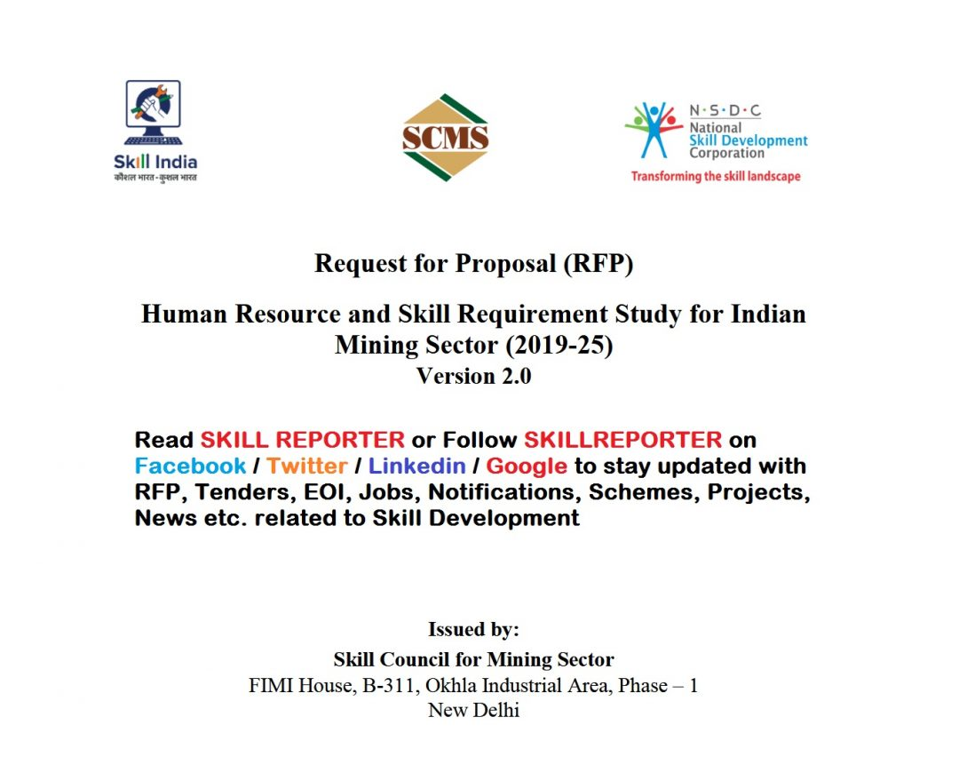 Request for Proposal (RFP) for Human Resource and Skill
