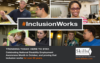 #InclusionWorks, Trending Today, Here To Stay.