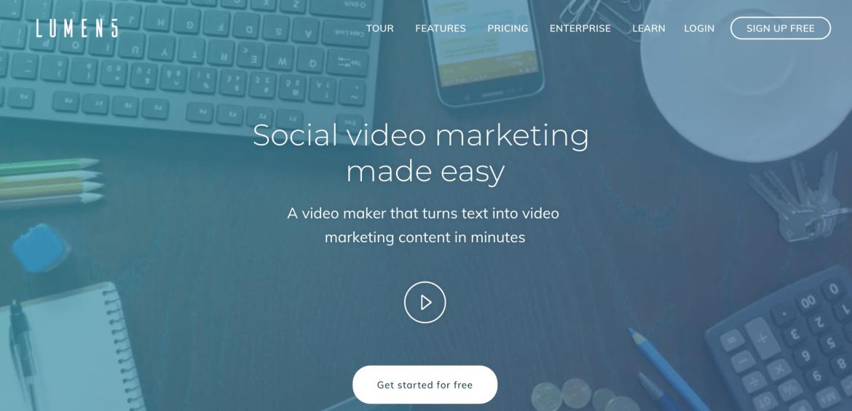 Lumen5-Video-Content-Creation-Tool