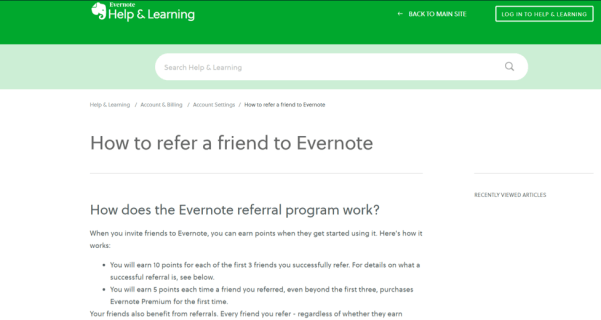 Evernote-Referral-Program