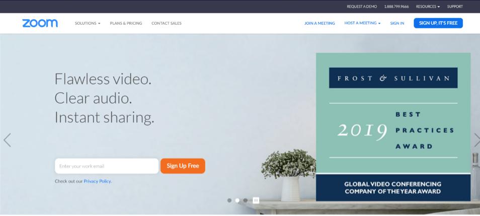 Zoom Sales App for Meetings