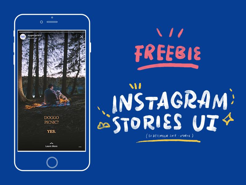 Instagram Stories UI