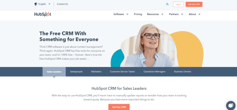 HubSpot Sales Management CRM
