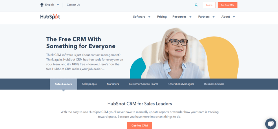 HubSpot Sales Management CRM