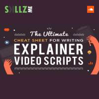 Explainer Video Script - The Ultimate Cheat Sheet [Infographic]