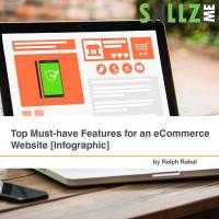 Top Must-have Features for an eCommerce Website [Infographic]