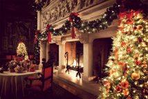 Biltmore Fireplace Christmas Skimbaco Lifestyle