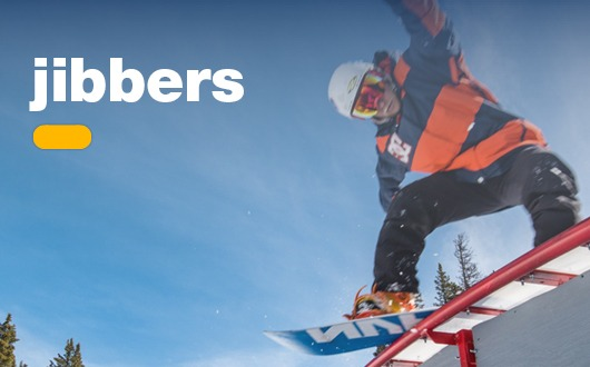 Jibbers (Ages 7 – 16)For skiers or snow-boarders who love tricks and the terrain park.