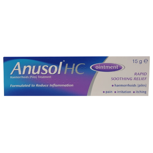Pharmacy Only Medicine : ANUSOL HC OINTMENT 15g