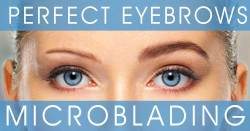 Perfect Eyebrows with Microblading