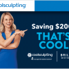Save $200 on CoolSculpting