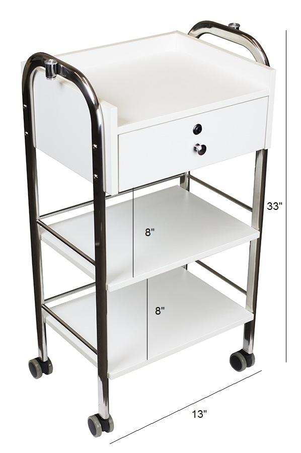 Salon Cart with Single Drawer beauty salon carts
