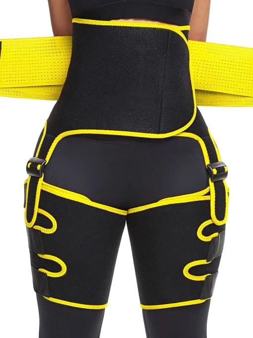MT200015 YE1 4 Waist Skin-Friendly Neoprene Thigh Trainer High Waist Adjustable
