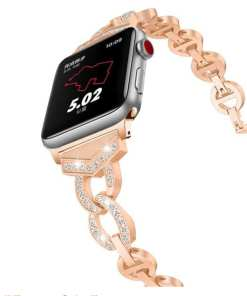 smart Apple Watch: Diamond Watch Band for Apple Watch
