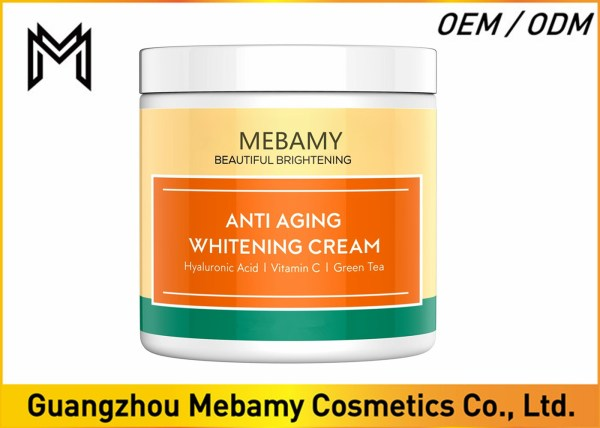 Vitamin Kojic Hyaluronic Acid Face Cream Whitening Nutrients Skin Care