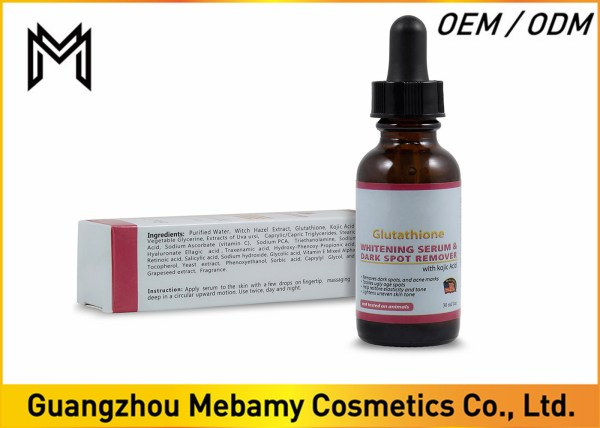 Skin Lightening Glutathione Whitening Serum Organic Vitamin Face
