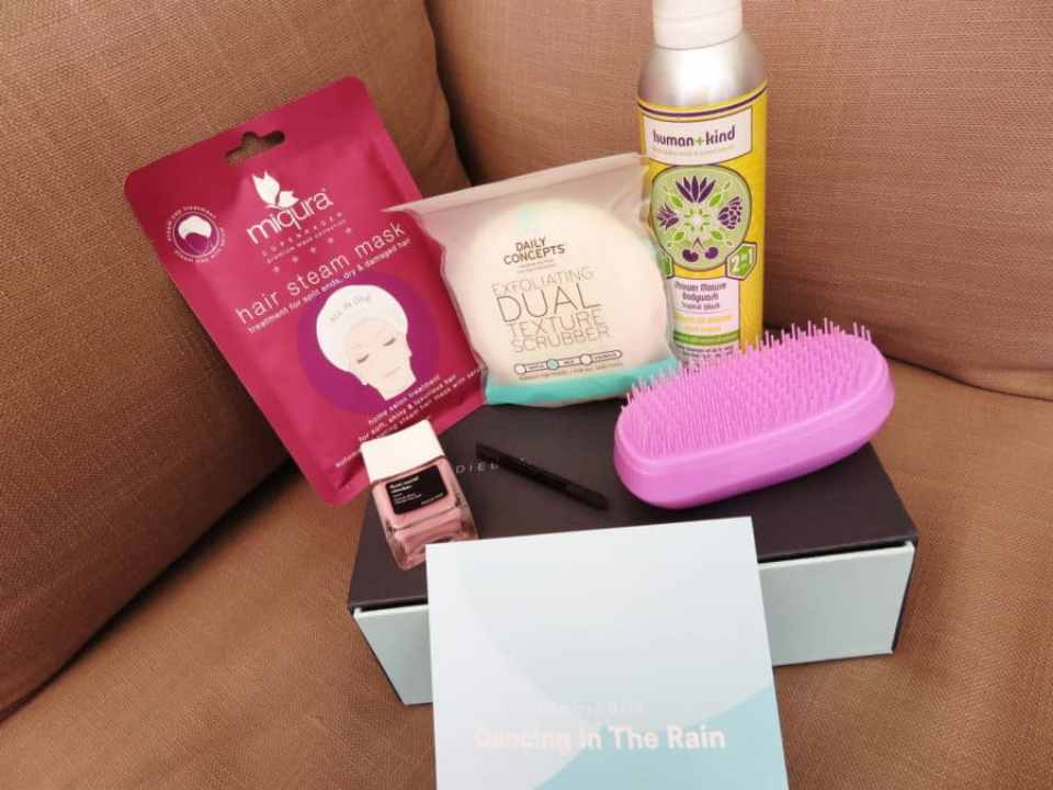 Gehele goodiebox april 2019