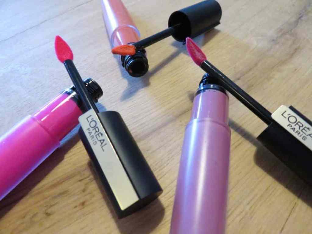 L'oreal paris liquid lipsticks applicator