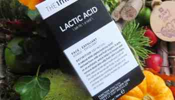 Lactic Acid, the inkey list, ook wel melkzuur genoemd.