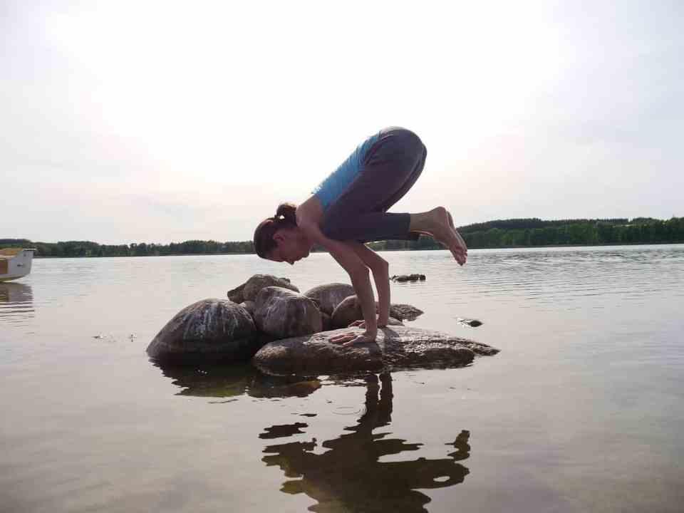 kraai houding yoga