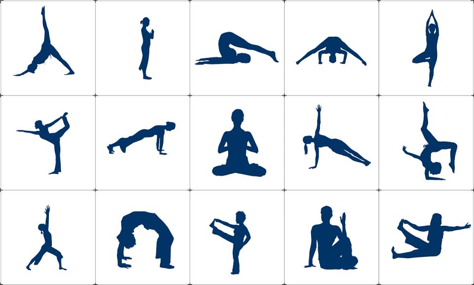 yoga houdingen