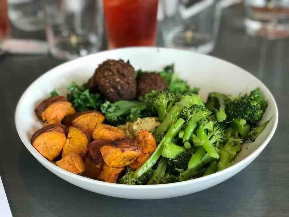 Brocolli, zoete aardappel, carotenoïden