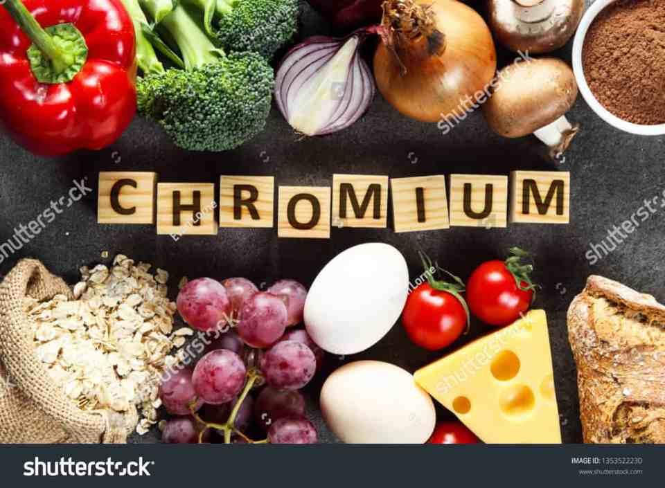 chroom is goede voeding voor een gezonde huid, omdat het de bloedsuikerspiegel stabiliseert, reinigt de bloedvaten en helpt aminozuren te transporteren naar waar het lichaam ze nodig heeft.